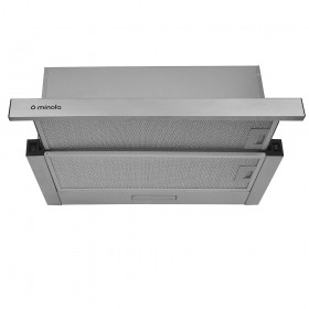 Telescopic hood Minola HTL 6414 I 800 LED