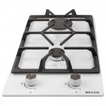 Gas surface Domino on metal WEILOR GM 304 WH
