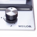 Gas surface on metal WEILOR GM 624 SS