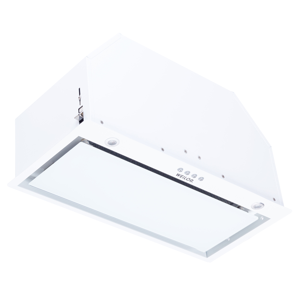 Hood fully built-in WEILOR PBE 6230 GLASS WH 1100 LED