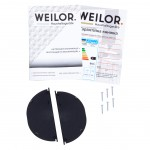 Hood Fully Built-in WEILOR PPE 5230 SS 1000 LED Strip