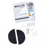 Hood telescopic WEILOR PTS 6265 BL 1300 LED Strip