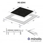 Induction surface Minola MI 6044 GBL