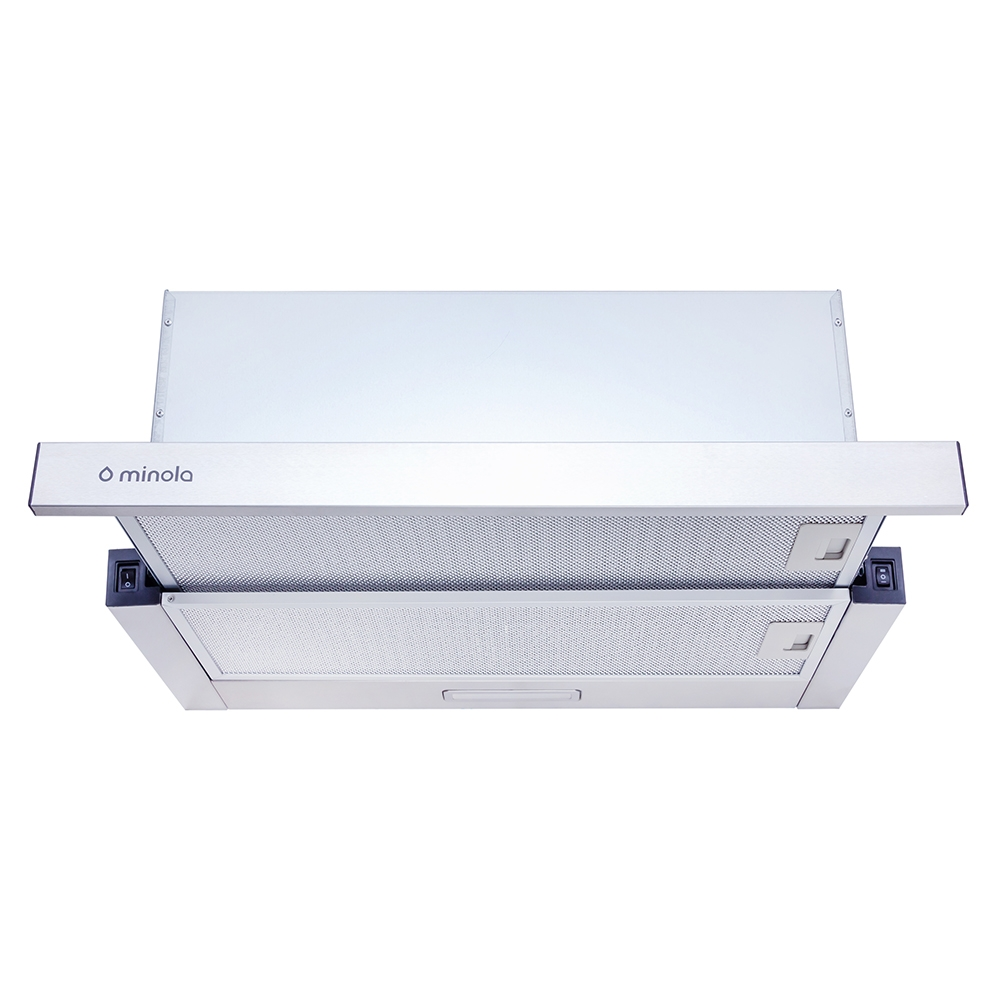 Telescopic hood Minola HTL 6814 I 1200 LED