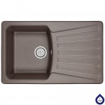 Kitchen sink granite Minola MPG 1150-80 Espresso