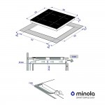Induction surface Minola MI 6042 GBL