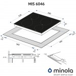Induction surface Minola MIS 6046 KWH
