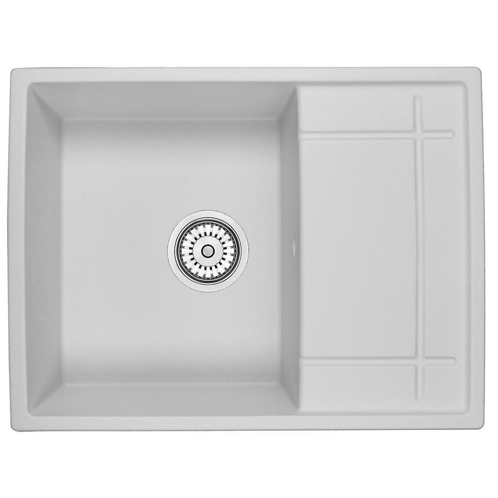 Мийка кухонна гранітна Minola MPG 1150-65 Арктик