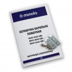 Glass ceramic surface Domino Minola MVH 3043 GBL