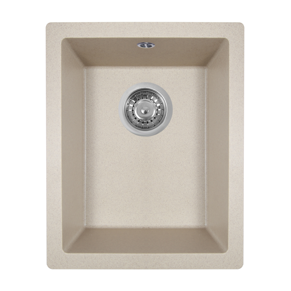 Granite kitchen sink Perfelli ESTO PGE 10-38 SAND