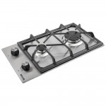 Gas surface Domino on metal WEILOR GM 304 SS
