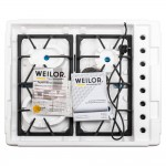 Gas surface on metal WEILOR GM W 634 SS