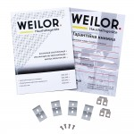 Glass ceramic surface WEILOR WHC 651 BLACK