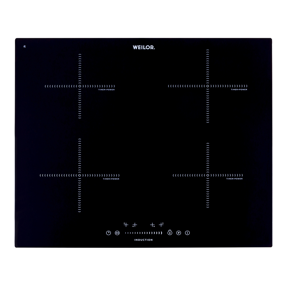 Induction surface WEILOR WIS 640 BLACK