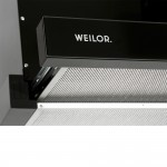 Telescopic Hood WEILOR WTS 6280 BL 1200 LED Strip
